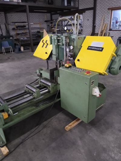 Automatic bandsaw Behringer HBP 260A - Sawing machine