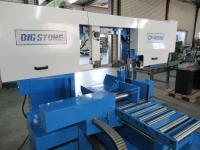 Automatic bandsaw Bigstone CF 420 AW - Sawing machine