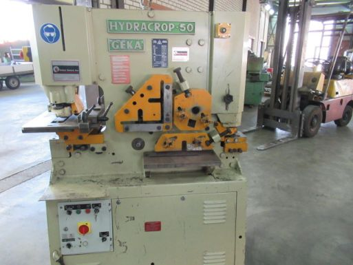 Ironworker Geka Hydracrop 50 - Punchingmachine