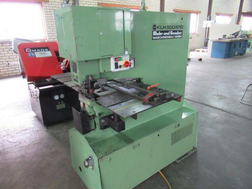 Mubea KLH 500 / 610 - Punchingmachine