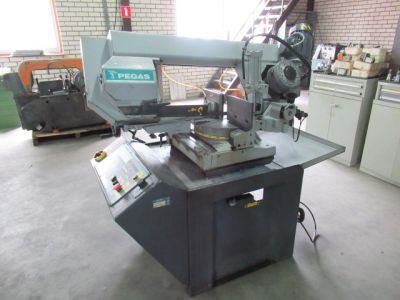 Pegas Gonda semi-automatic bandsaw - Sawing machine