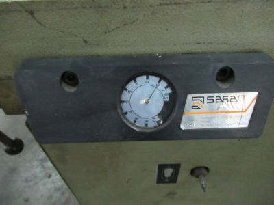 Safan 205-3 - Guillotine shear