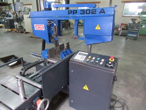 Automatic bandsaw machine TMJ PP 302-A - Sawing machine
