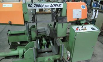 Automatic bandsaw machine Uniz SC 250-EA - Sawing machine